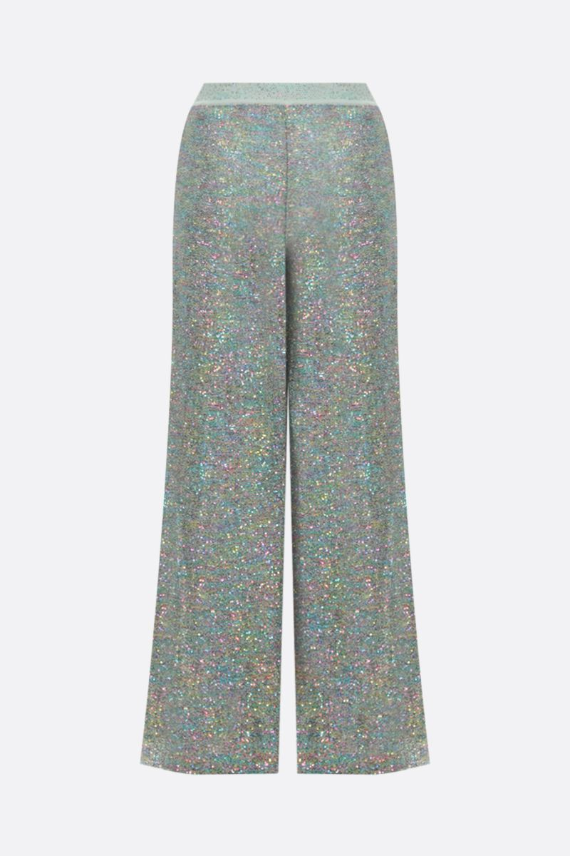 MISSONI: sequinned knit wide-leg pants_2
