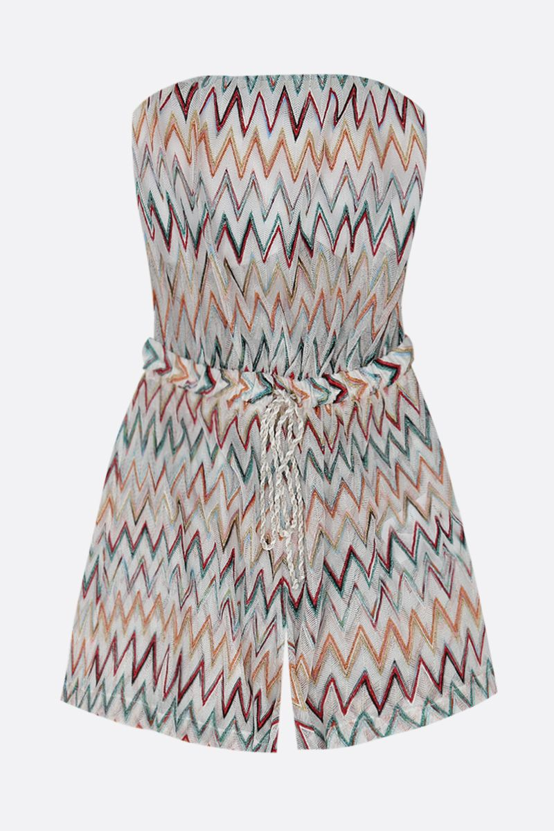 MISSONI: lightweight lurex knit jumpsuit Color Multicolor_1