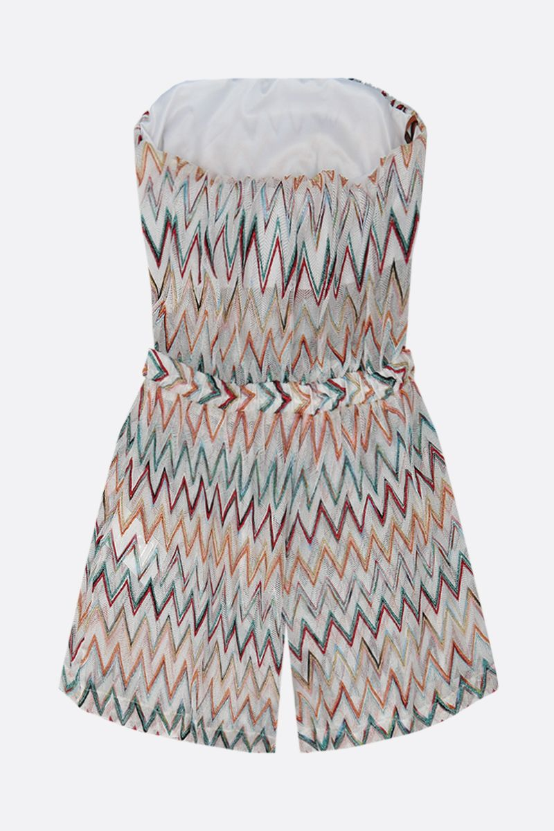MISSONI: lightweight lurex knit jumpsuit Color Multicolor_2