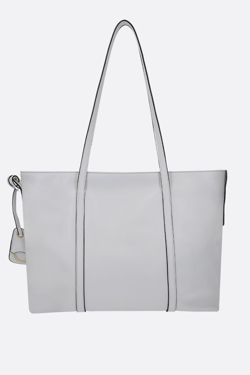 MIU MIU: Grace Lux leather tote bag Color White_3