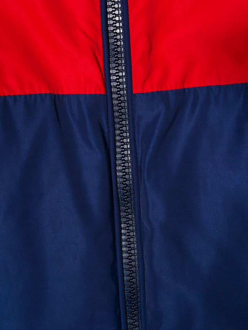MONCLER KIDS: Gittaz nylon windbreaker Color Red_3