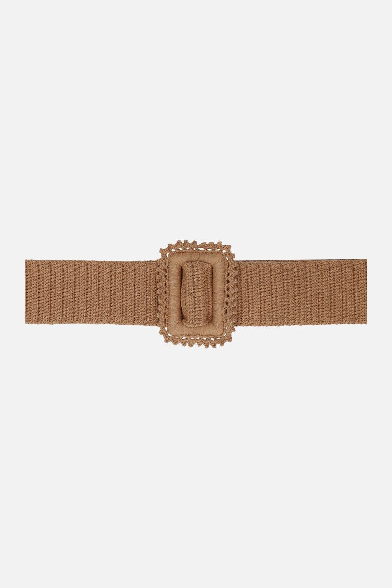 MSGM: crochet waist belt Color Neutral_1