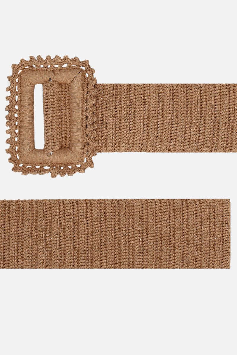 MSGM: crochet waist belt Color Neutral_2