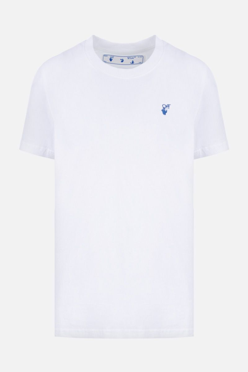 OFF WHITE: New Logo cotton t-shirt Color White_1