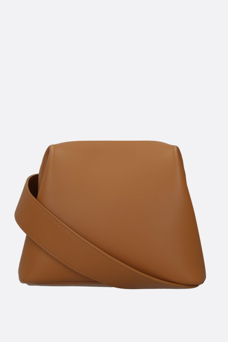 OSOI: Mini Brot crossbody bag in smooth leather Color Neutral_1