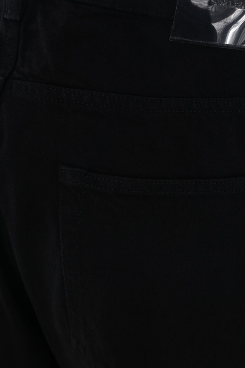 OUR LEGACY: jeans straight-fit Colore Nero_3