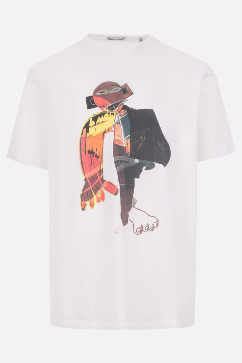 OUR LEGACY: t-shirt Voodoo Child in cotone Colore Bianco_1