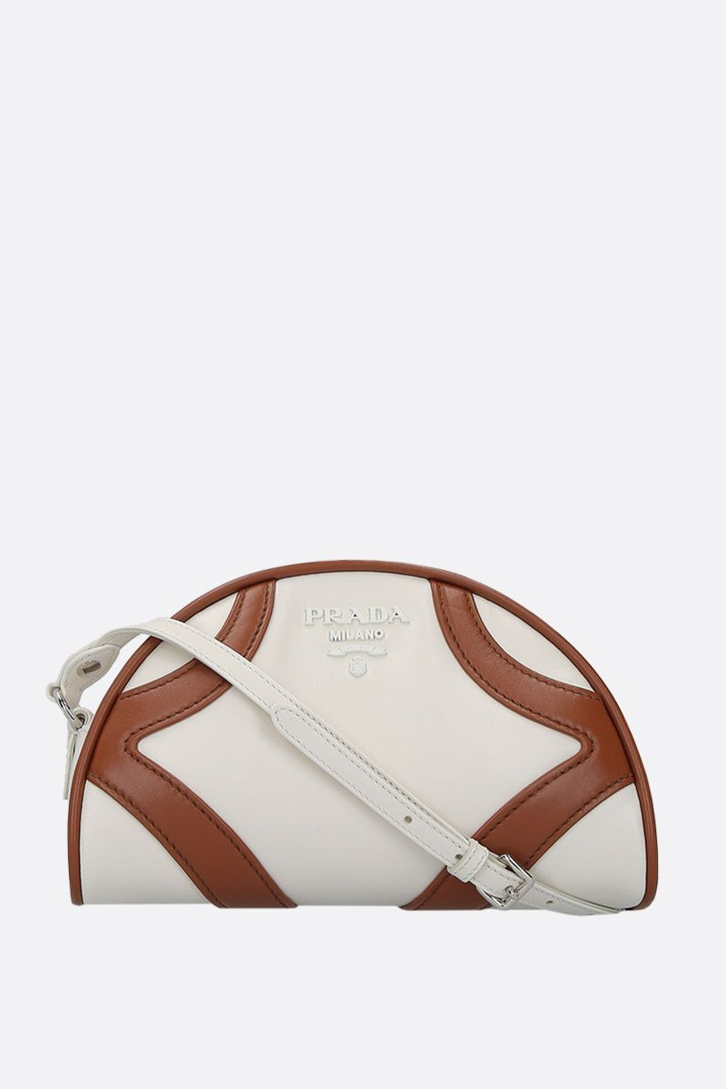 PRADA: Prada Bowling shoulder bag in smooth leather_1