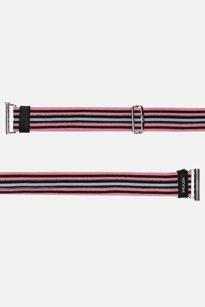 PRADA: elasticated fabric belt Color Pink_2