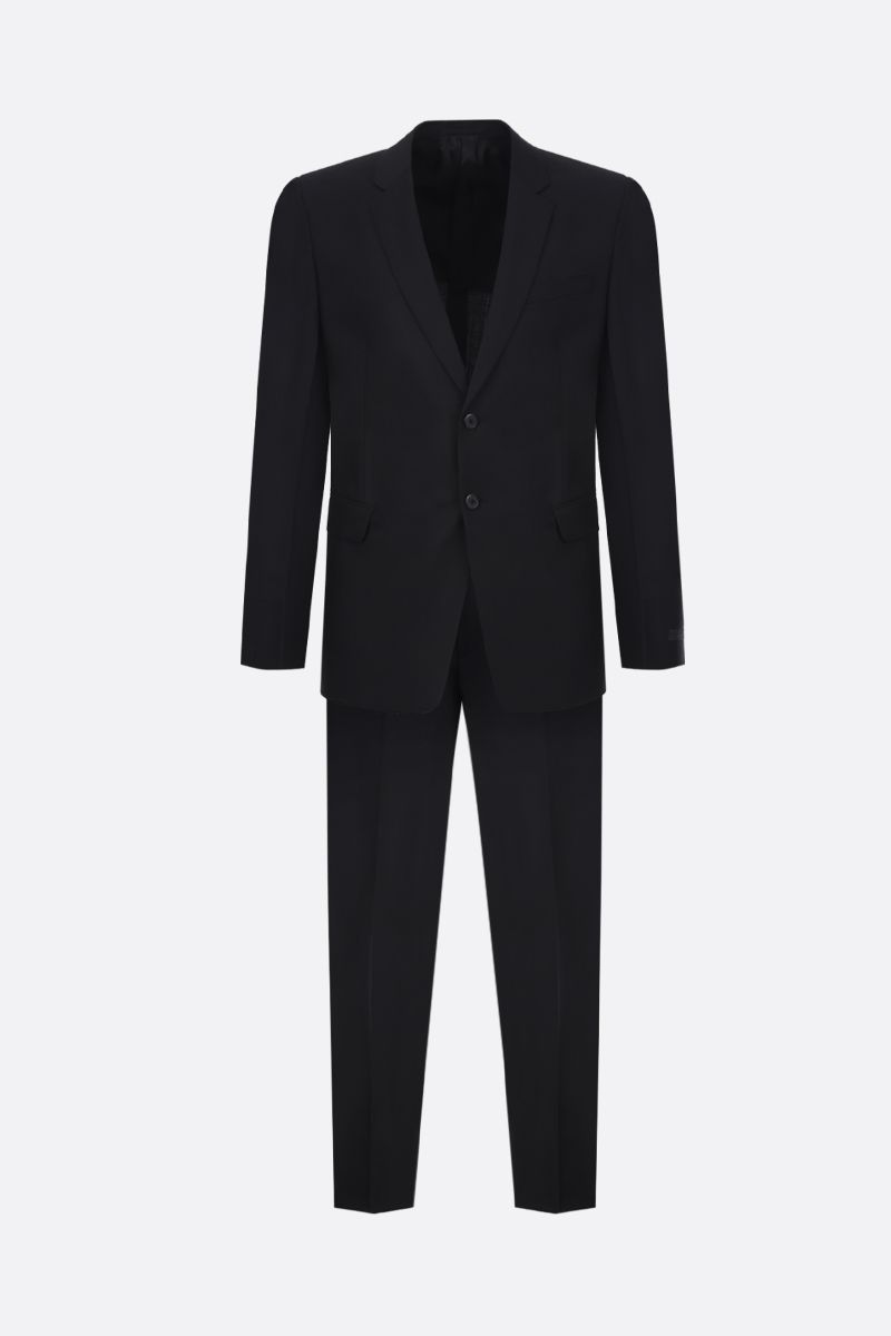 PRADA: wool mohair blend two-pieces suit Color Black_1