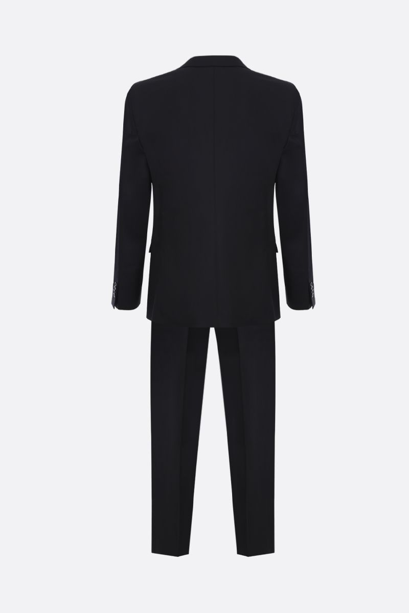 PRADA: wool mohair blend two-pieces suit Color Black_2