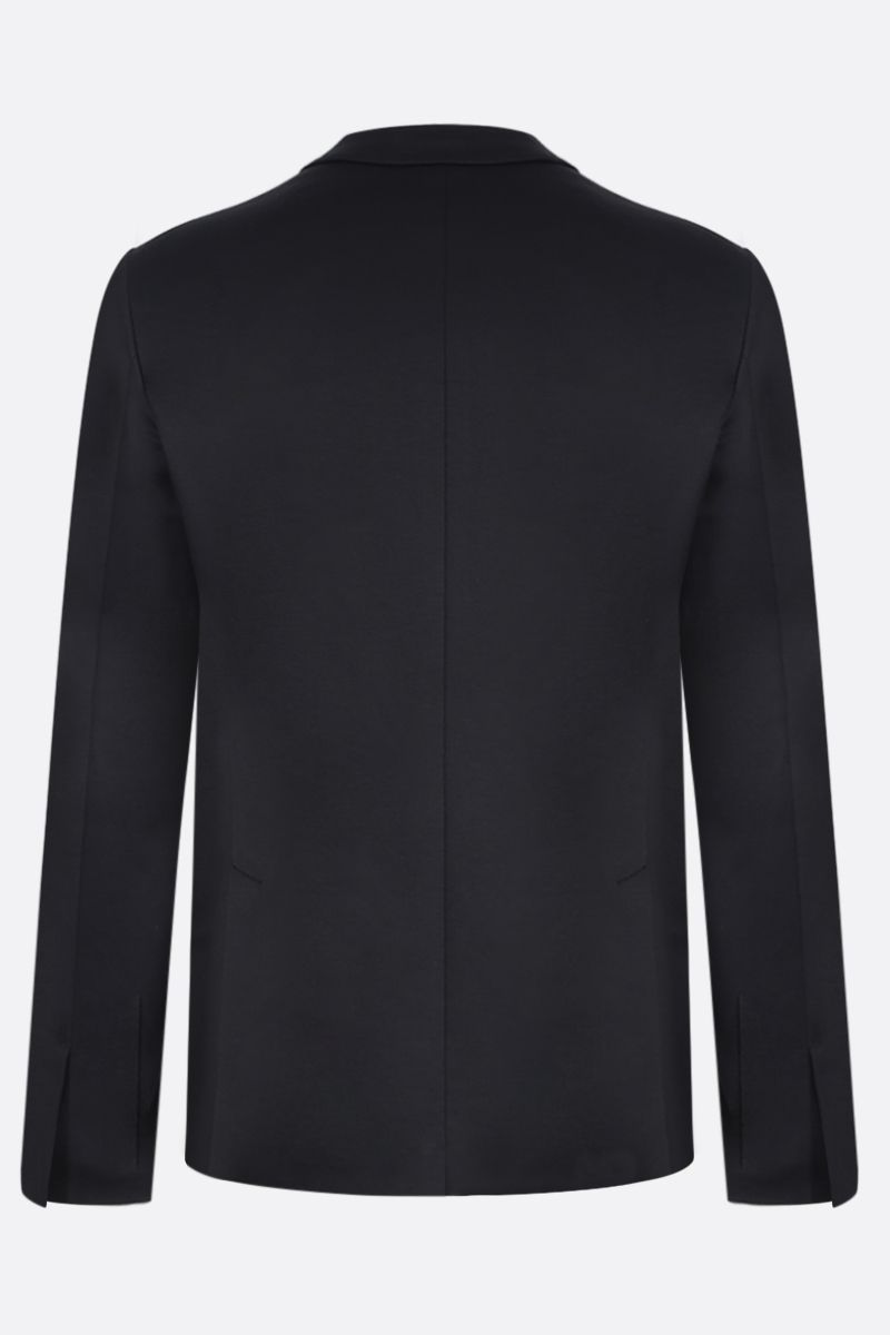 PRADA: single-breasted jacket in Lisle cotton Color Black_2
