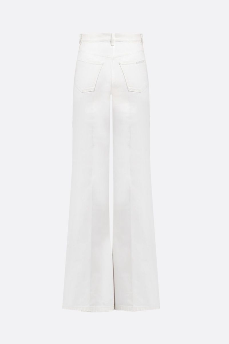 PRADA: high-waist flare jeans Color White_2