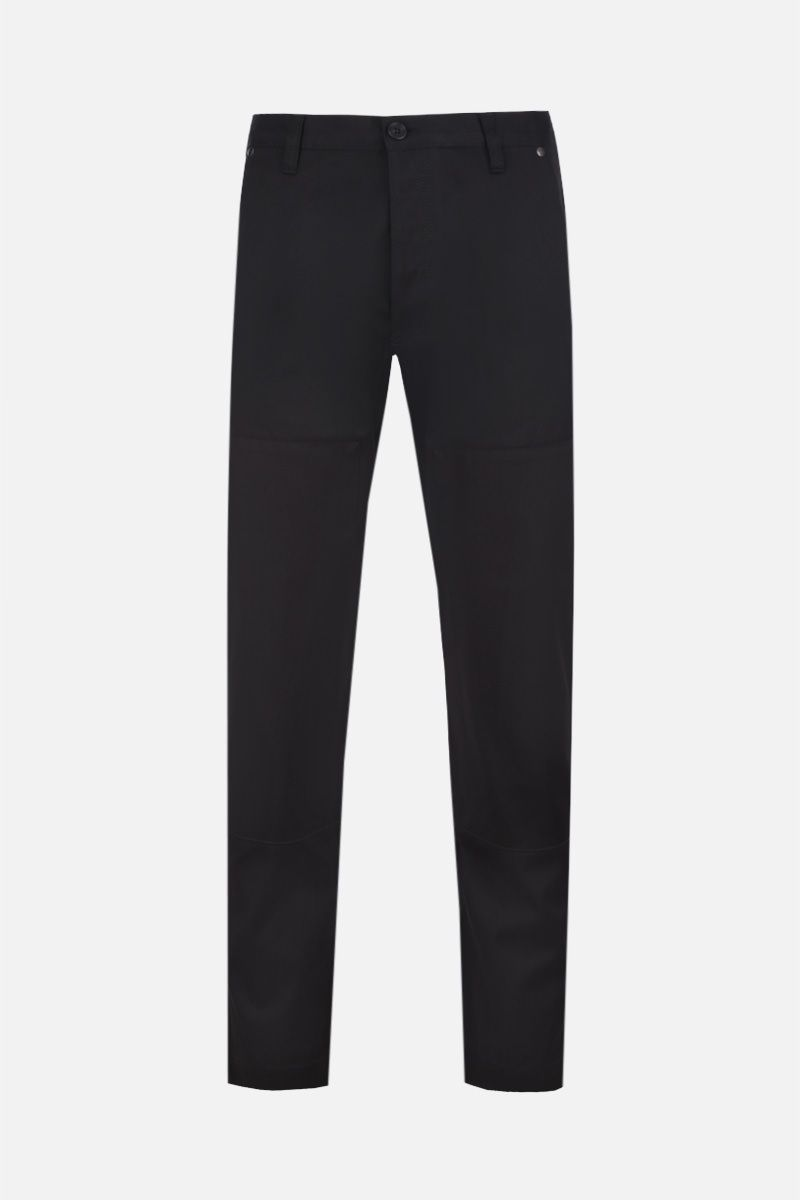 PRADA: gabardine cargo pants Color Black_1