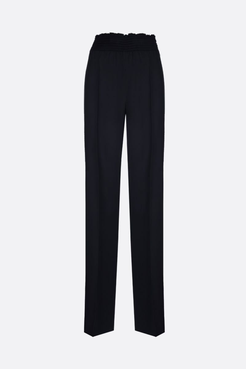 PRADA: sablè high-waisted pants Color Black_1