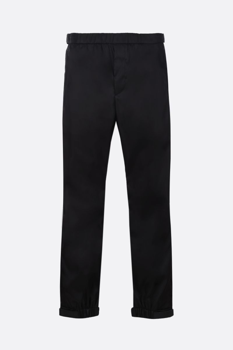 PRADA: nylon joggers Color Black_1