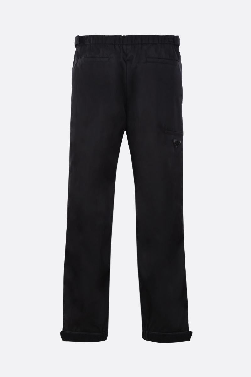 PRADA: nylon joggers Color Black_2