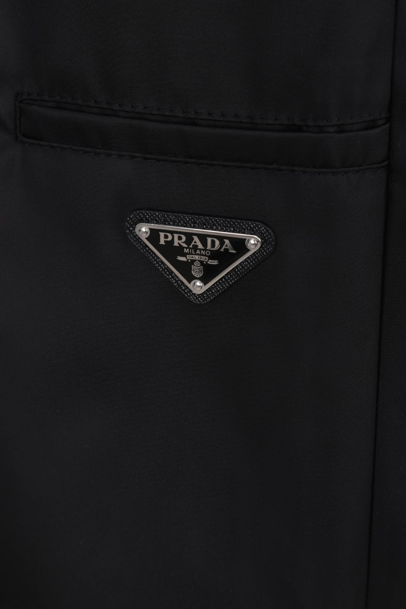 PRADA: nylon joggers Color Black_4