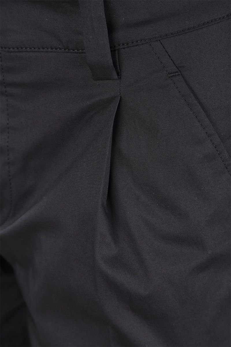 PRADA: stretch cotton cargo pants Color Black_4
