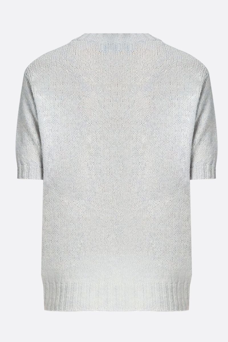 PRADA: wool short-sleeved pullover Color Neutral_2