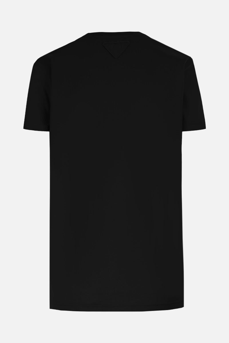 PRADA: 3 t-shirt pack in cotton jersey Color Black_3