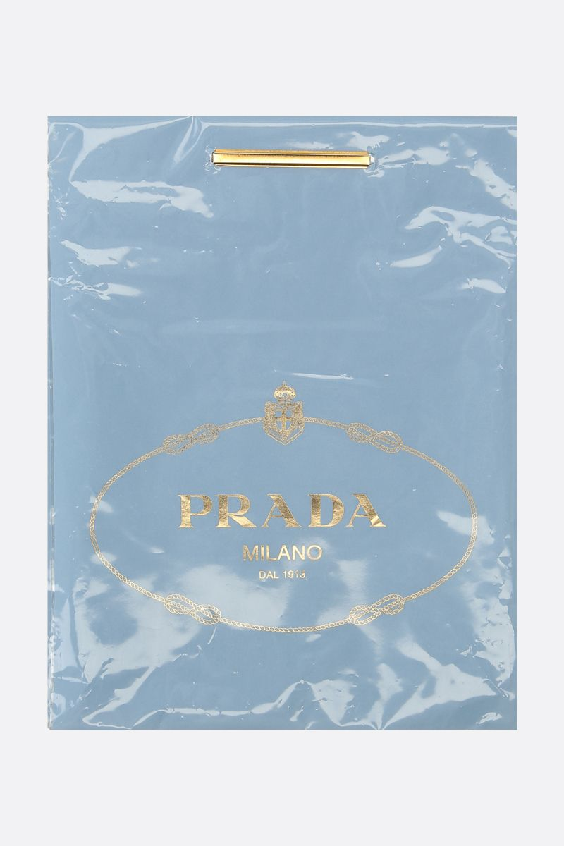 PRADA: 3 t-shirt pack in cotton jersey Color Black_6