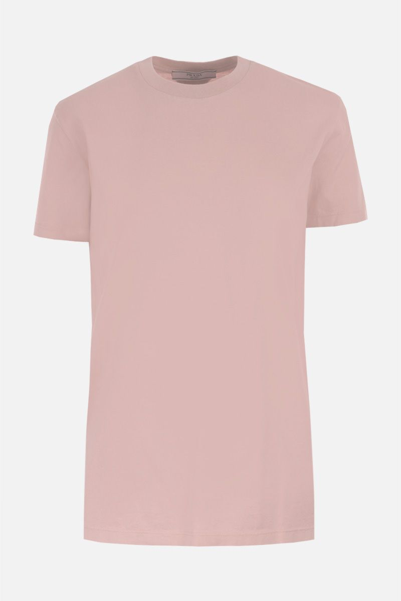 PRADA: 3 t-shirt pack in cotton jersey Color Pink_2