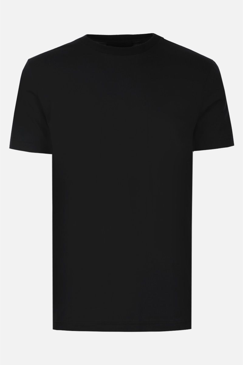 PRADA: 3 pack t-shirt in cotton jersey Color Black_2