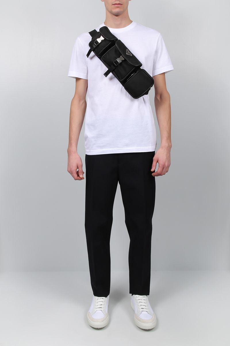 PRADA: 3-pack t-shirt in cotton jersey Color White_2