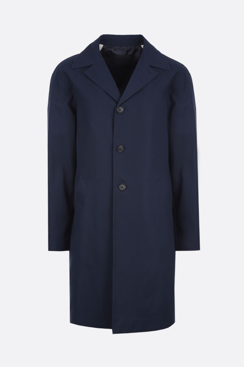 PRADA: lightweight gabardine car coat Color Blue_1