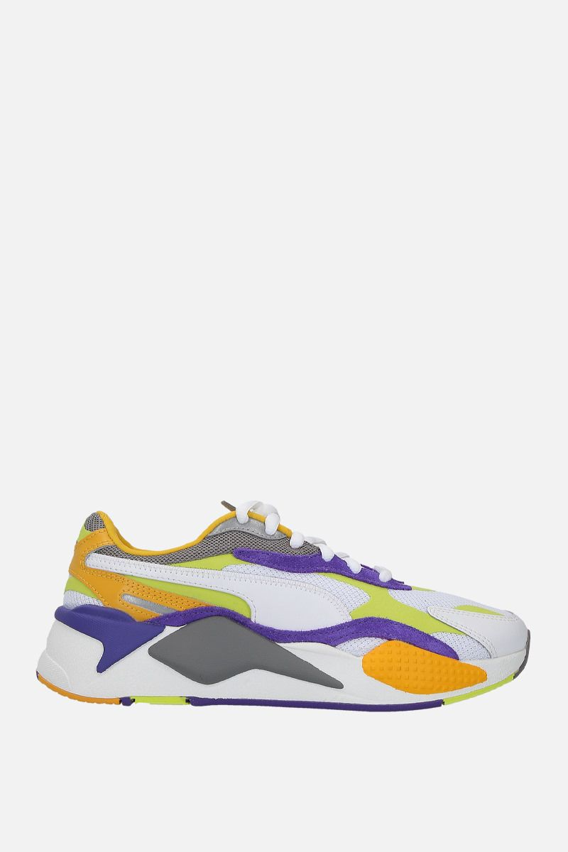 PUMA: RS-X3 Level Up sneakers in faux leather and mesh Color Multicolor_1