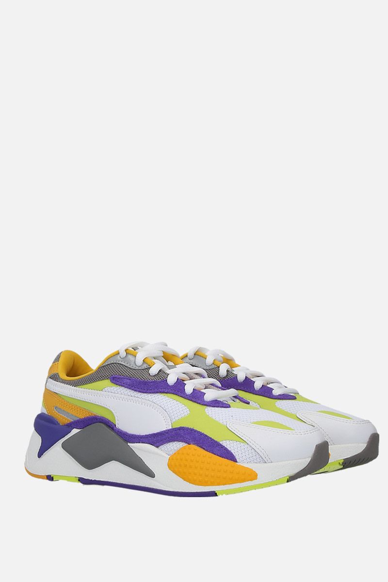 PUMA: RS-X3 Level Up sneakers in faux leather and mesh Color Multicolor_2