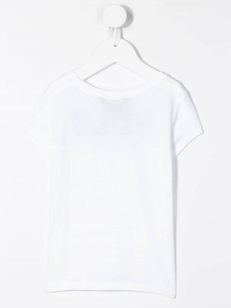 RALPH LAUREN KIDS: Polo cotton t-shirt Color White_2