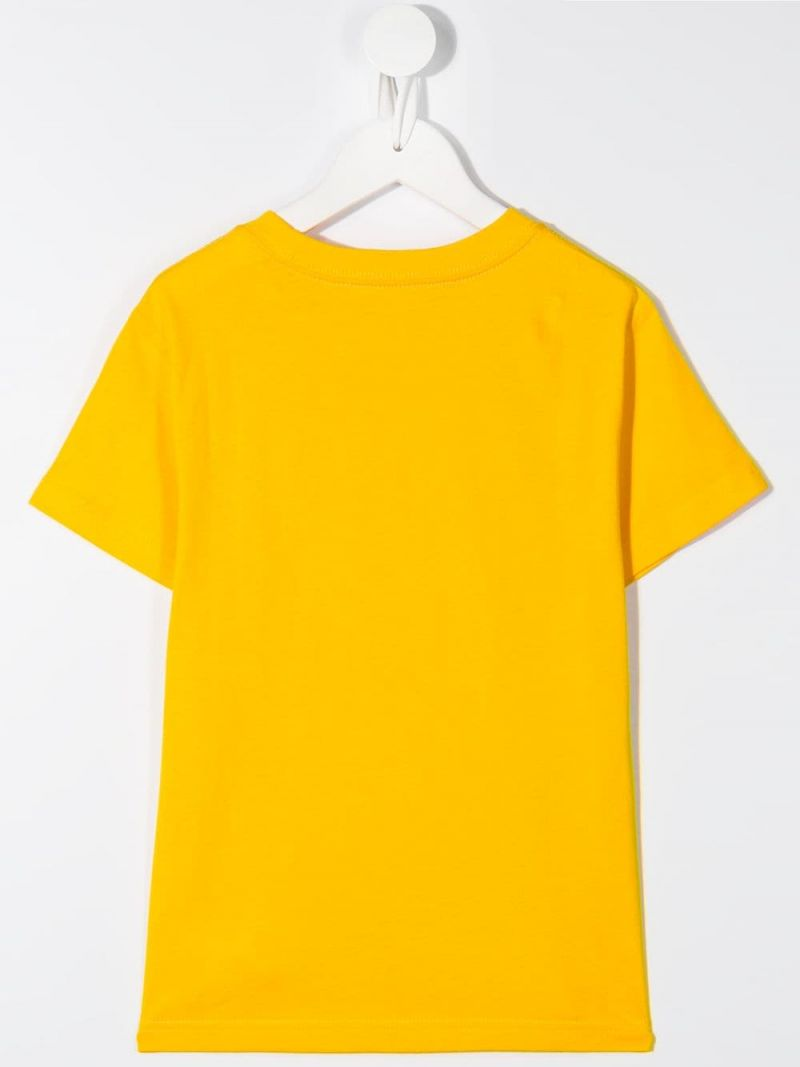 RALPH LAUREN KIDS: Fanny Pack Bear print cotton t-shirt Color Yellow_2