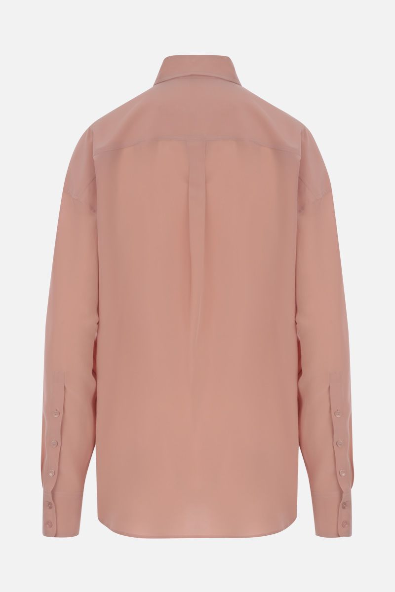ROCHAS: crepe de chine shirt Color Pink_3