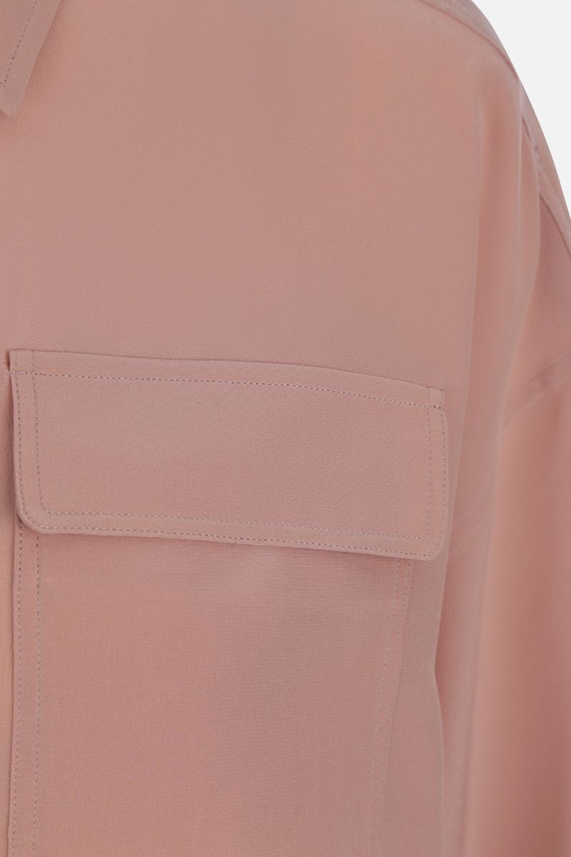 ROCHAS: crepe de chine shirt Color Pink_5