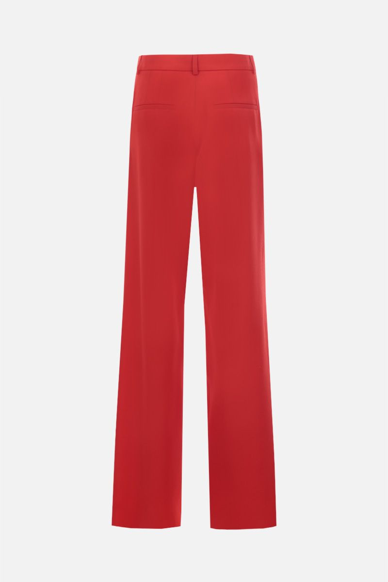 ROCHAS: wool wide-leg pants Color Red_2