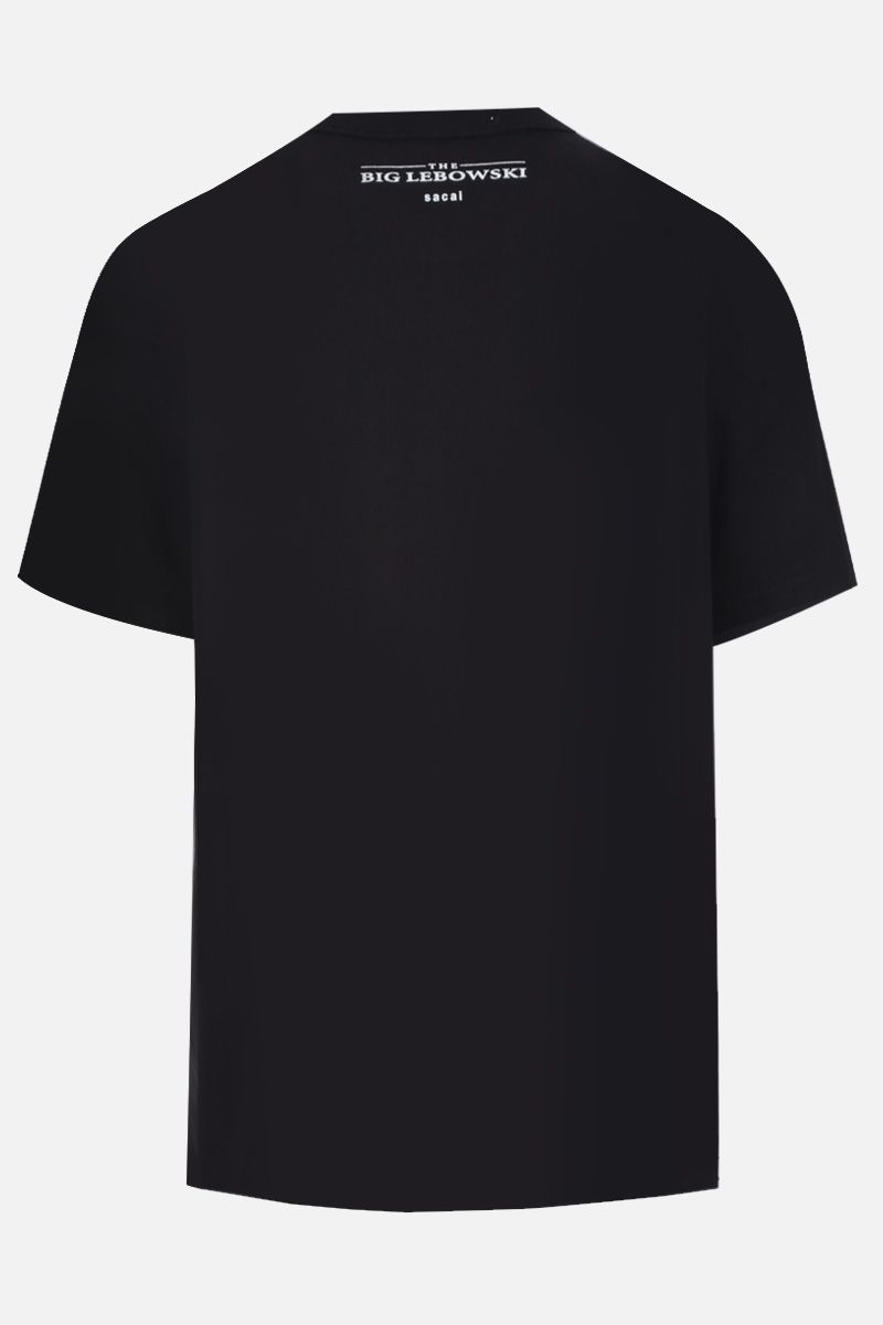 SACAI: The Big Lebowski print cotton t-shirt Color Black_2