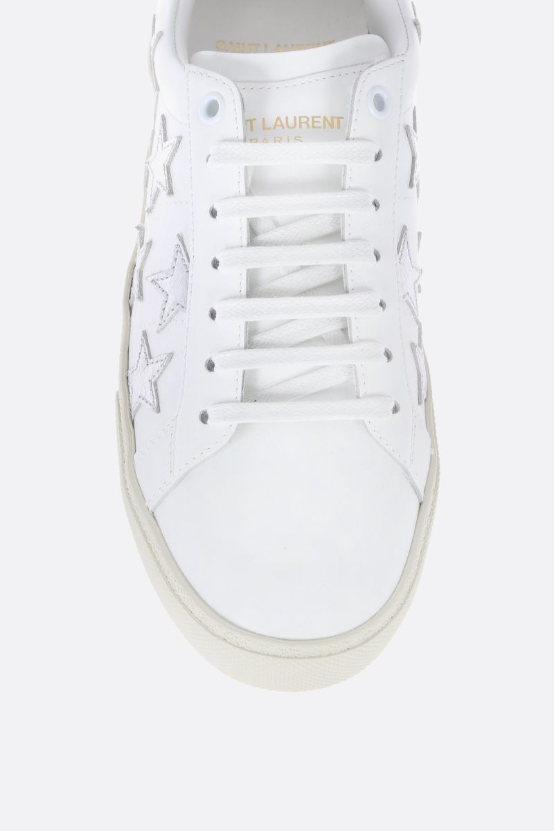SAINT LAURENT: Court Classic sneakers in smooth leather_4