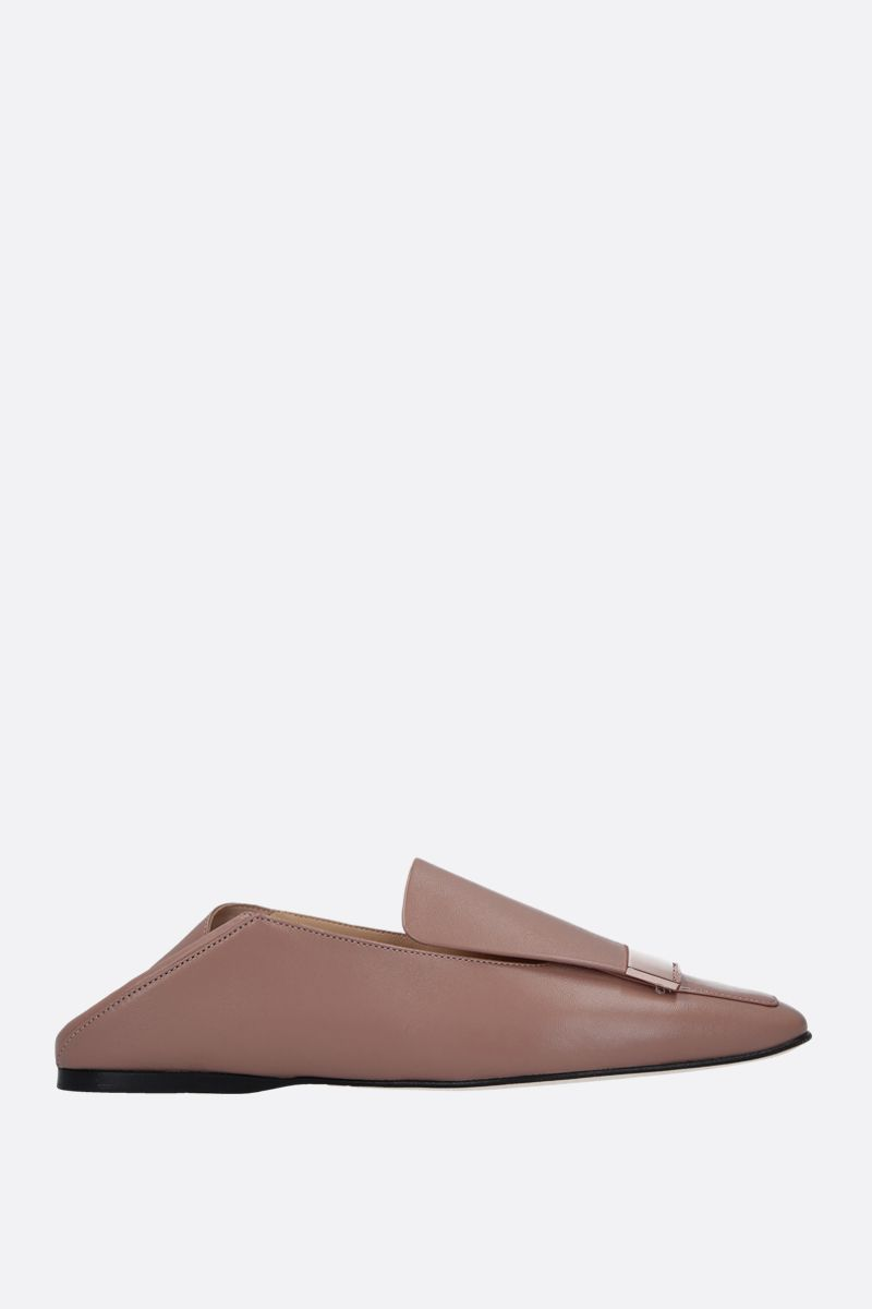 SERGIO ROSSI: sr1 slippers in soft nappa_2