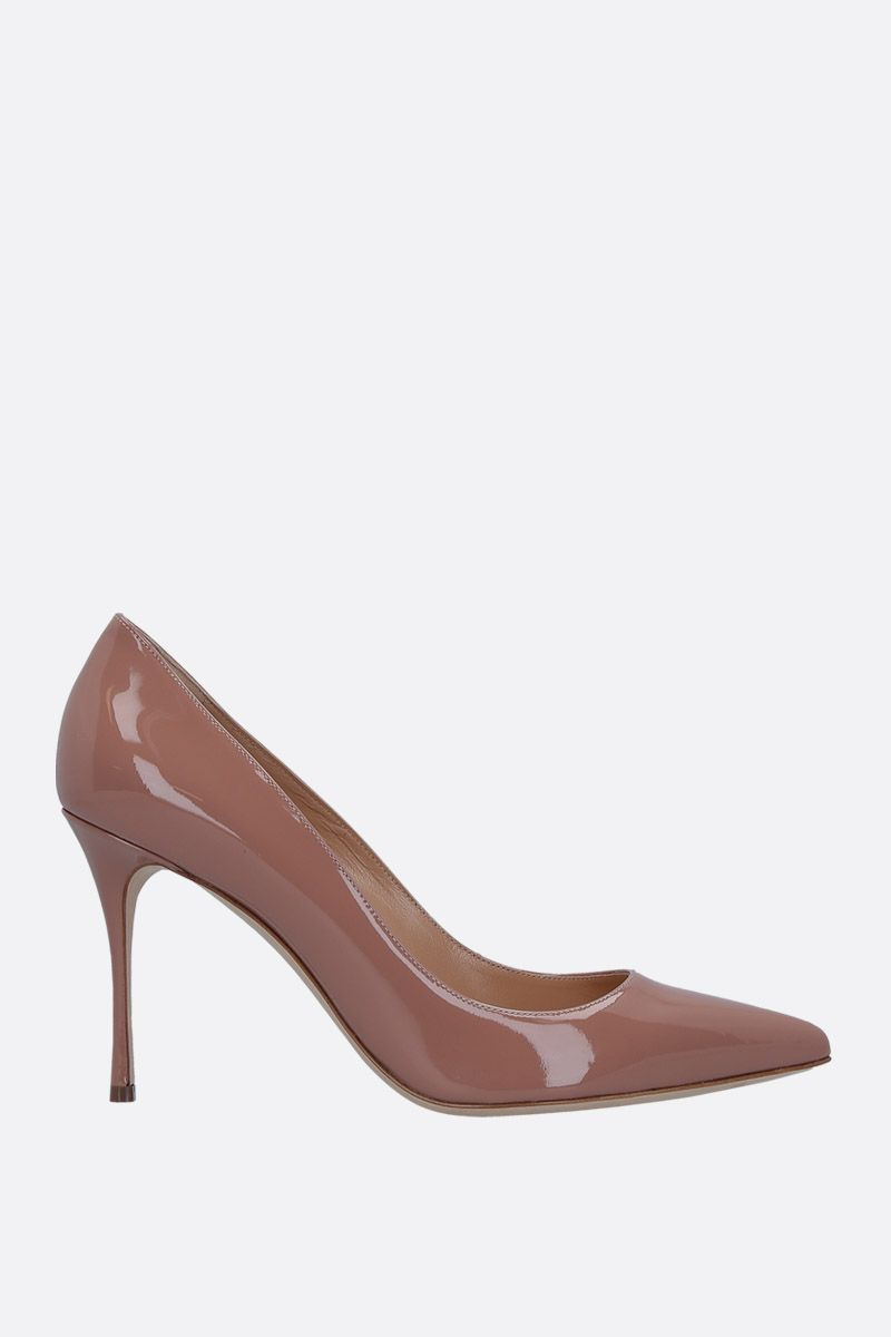 SERGIO ROSSI: Godiva pumps in patent leather_1