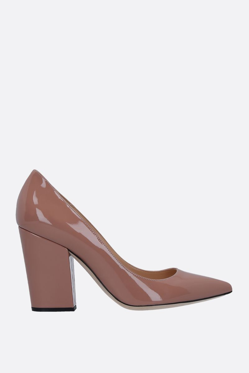 SERGIO ROSSI: Sergio pumps in patent leather_1