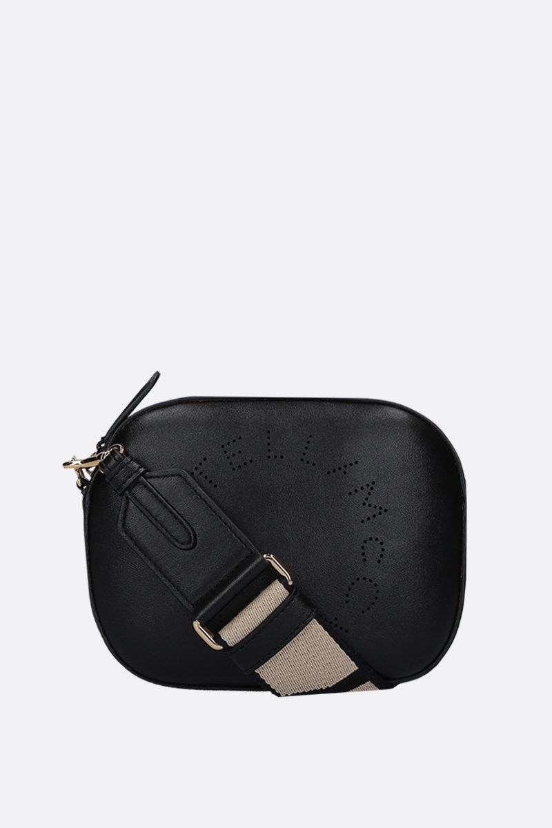 STELLA McCARTNEY: Stella Logo belt bag in Alter Nappa Color Black_2