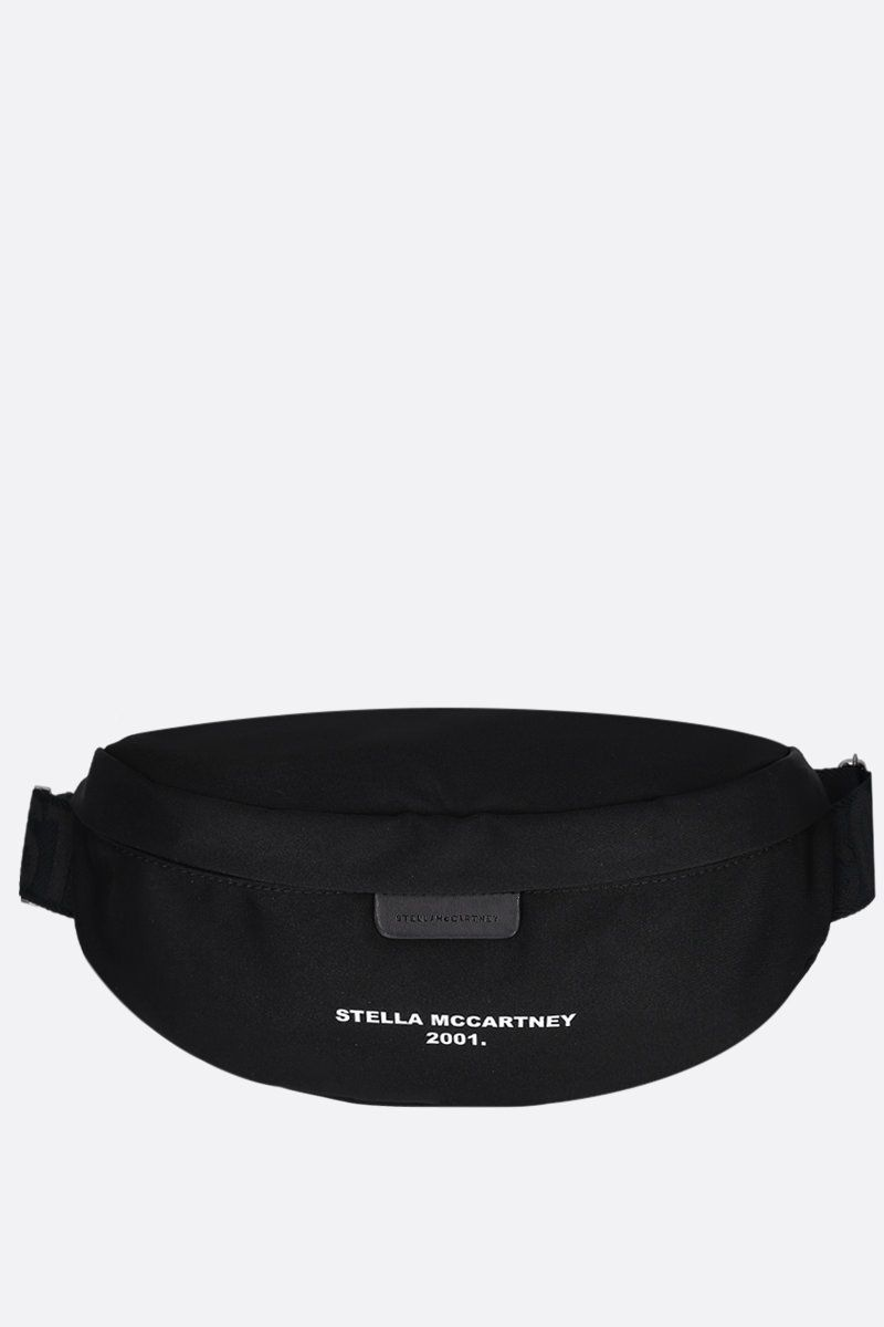 STELLA McCARTNEY: Stella McCartney 2001 belt bag in ECONYL® Color Black_1