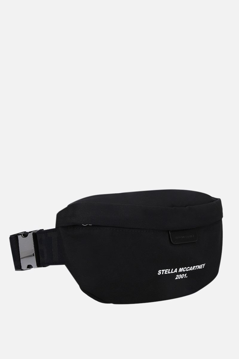 STELLA McCARTNEY: Stella McCartney 2001 belt bag in ECONYL® Color Black_2