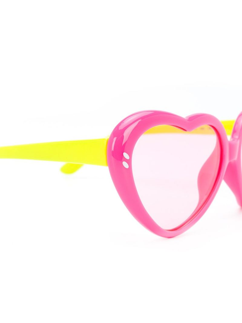STELLA McCARTNEY KIDS: acetate heart-shaped sunglasses_2