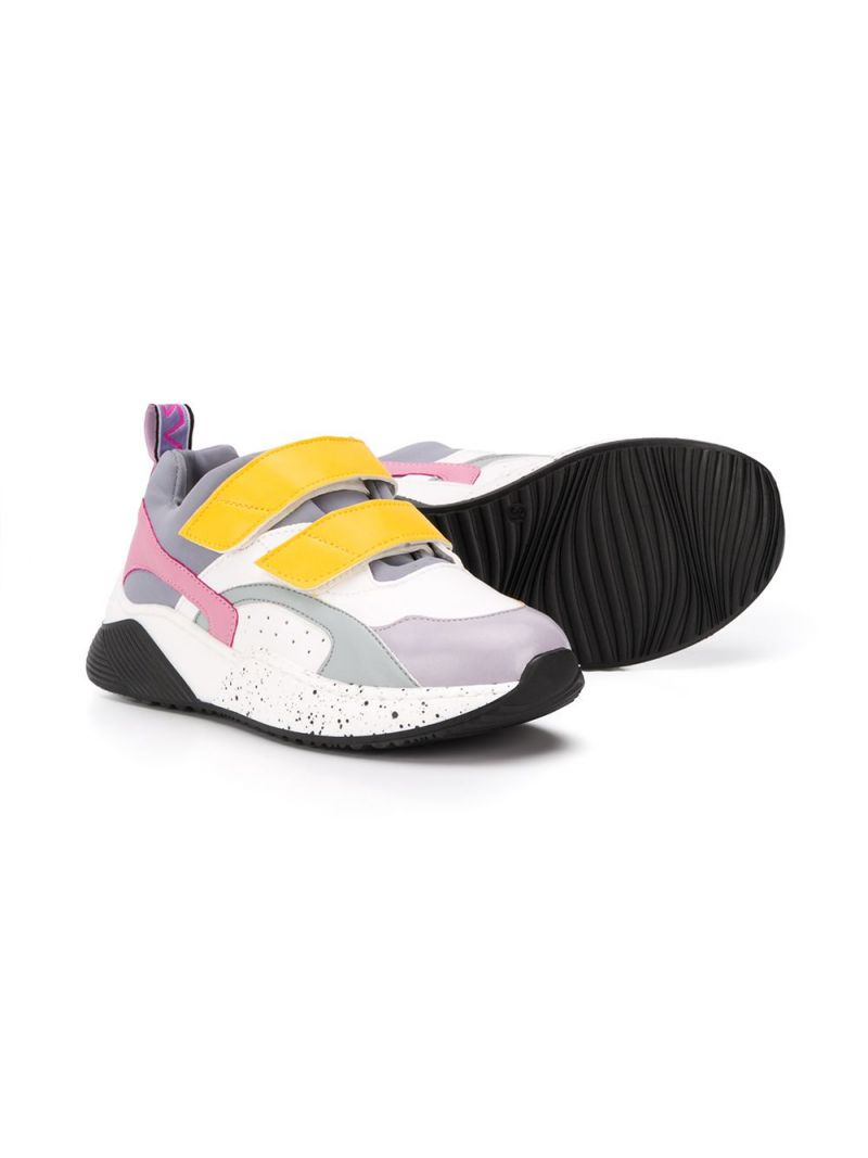 STELLA McCARTNEY KIDS: low-top sneakers in Alter Nappa and neoprene Color Multicolor_2