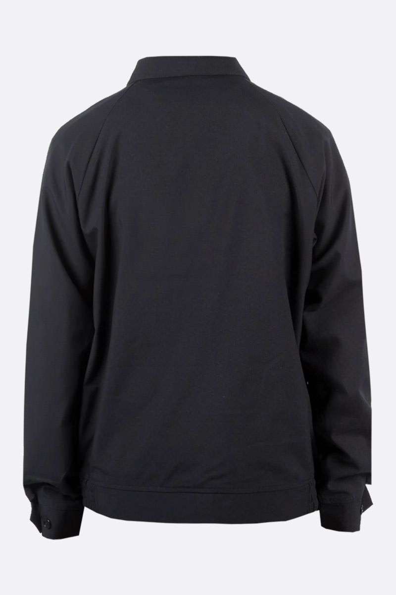 STUSSY: Bryan technical fabric full-zip jacket Color Black_2