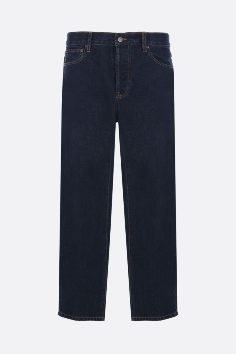 STUSSY: jeans straight-fit Colore Blu_1