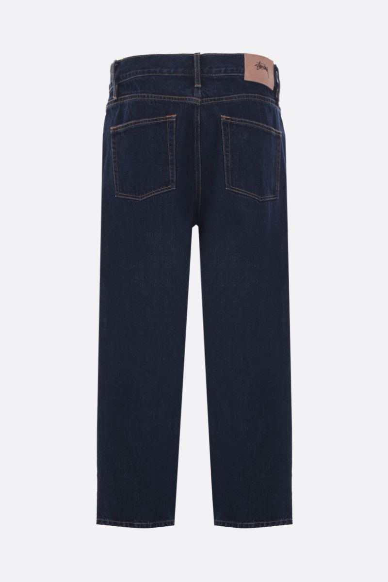 STUSSY: jeans straight-fit Colore Blu_2